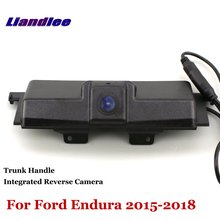 Liandlee Car Reverse Camera For Ford Endura 2015-2018 Rear View Backup Parking / Trunk Handle Integrated High Quality