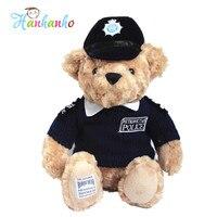 Niños Favorita Muñeca Oso De Peluche de Juguete de Policía Policía UK Costa guardia de Oso Con Suéter Niños de peluche Oso de Peluche de Regalo 35 cm
