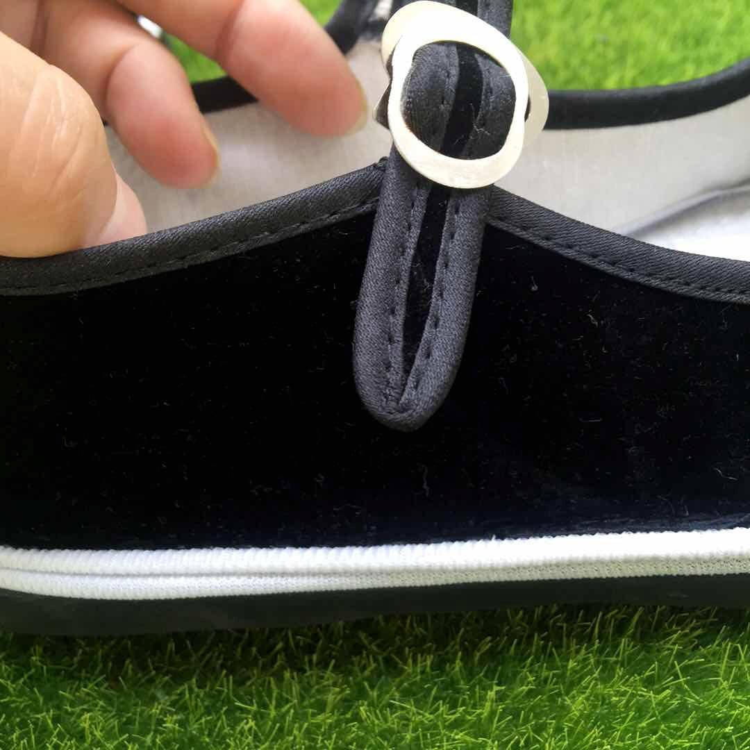 Gaya Cina Katun Sepatu Wanita Kanvas Sepatu Bordir Bunga Wanita Sepatu Flat Kembang Sepatu Tari Persegi St350 Wanita Flat Aliexpress