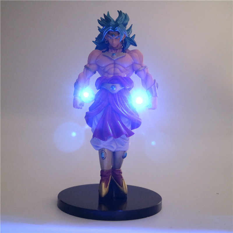 Dragon Ball Z Super Saiyan Broly Power Up Conduziu a Iluminação Anime Luz Da Noite DBZ Dragon Ball Z Brolly Collectible Modelo Toy Estatueta