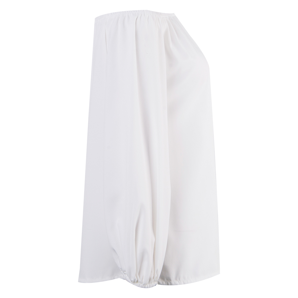 Manches De Off Bulle Épaule Dames Casual Mode Vêtements Tops Rose blanc Top Blouses Nouveau Été Femmes Lady Chemises IqSvvw