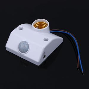 Image 4 - E27 220V Infrared Motion Sensor Automatic Light Lamp Holder Switch New Wide working voltage, normally working in170V 250V,50/60H