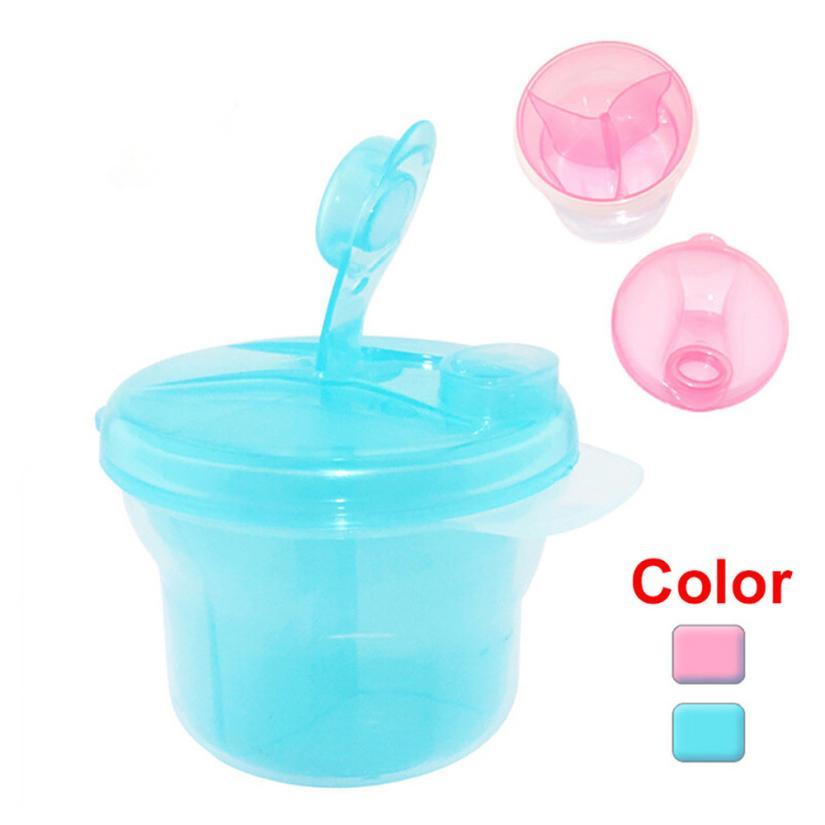 Milk-Powder-Dispenser Food-Container Portable 3-Section 2au11 3-Colors Infant Baby Kids