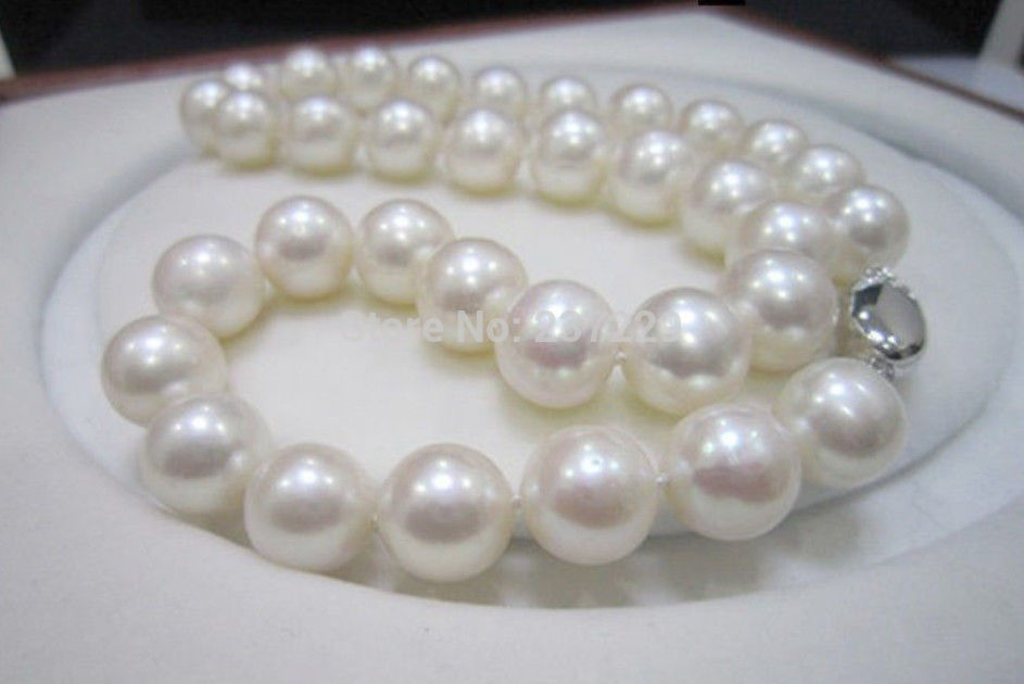 Women Gift word Love  shipping Wholesale price23022 ^^Perfect 11-12mm 18inch AAA Natural White Akoya Pearls Necklace 14KGP CWomen Gift word Love  shipping Wholesale price23022 ^^Perfect 11-12mm 18inch AAA Natural White Akoya Pearls Necklace 14KGP C