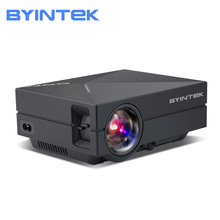 BYINTEK GM60 Home Theater HD 1080P portable Video LCD HD Cinema USB AC3 Theater mini LED Projector Proyector Beamer new uc40 pro led home theater cinema game projector 1800 lumens full hd 1080p video lcd beamer hdmi vga usb play hot saledec29