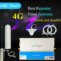 4g lte signal Cell Phone Mobile Signal Repeater cellular signal amplifier boosterbest quality with high quality antenna