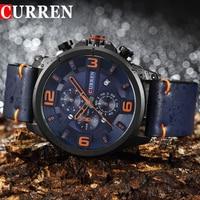 2017 New CURREN Top Brand Men Watches Men S Quartz Watch Man Casual Sport Clock Male