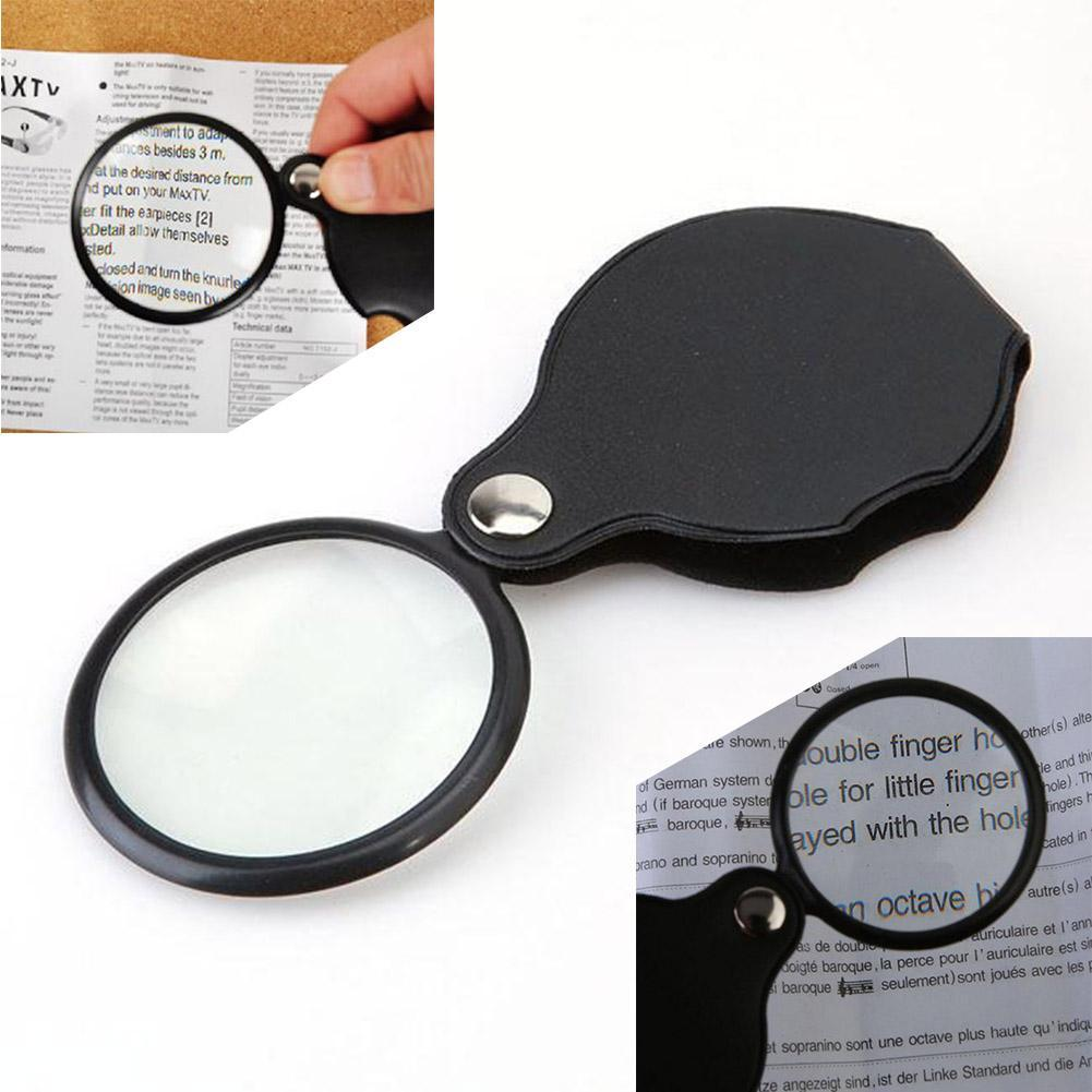 10x MAGNIFIER POCKET JEWELLERS EYEGLASS EYE GLASS MAGNIFYING LENS JEWELER