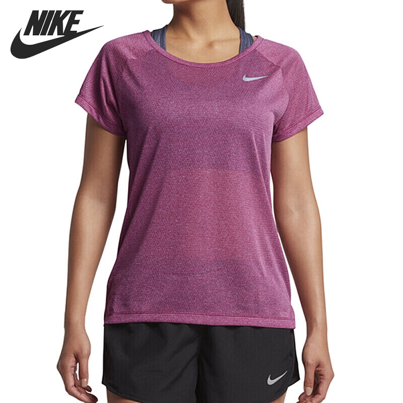 Original New Arrival 2017 NIKE BRTHE TOP SS Women's T-shirts short sleeve Sportswear adidas original new arrival official neo women s knitted pants breathable elatstic waist sportswear bs4904