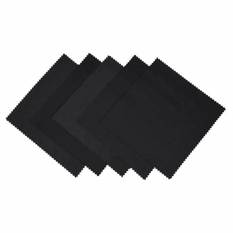 1 Set Schwarz Mikrofaser brillen Sonnenbrille Tuch Tasche Beutel individuell gläser beutel Beutel Spektakel Glas