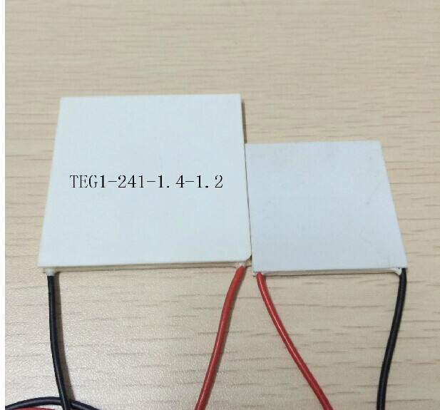 Freeshipping 55x55MM 7V 1.25A 55x55 TEG1-241-1.4-1.2 Thermoelectric Power Generation Peltier Module 40 40mm thermoelectric power generator high temperature generation element peltier module teg high temperature 150 degree white