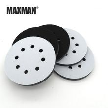 Maxman 5 Дюймовый 8 отверстий наждачная бумага коврик буферная