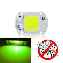 10 PCS Mosquito repellent COB Chip 20W 30W 50W 540nm~565nm AC 220V DIY for LED 20w led chip  xhp50