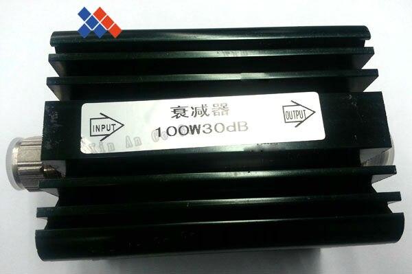 N Male to N Female Attenuator DC-3GHz 50W watt 30dB Coaxial Power With heat sink Attenuator n male to n female attenuator dc 3ghz 50w watt 30db coaxial power with heat sink attenuator free shipping