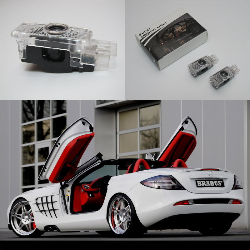 Car Door Ghost Shadow Lights For Mercedes Benz L SLR 2003~2009 Courtesy Doors L& / Brand Logo LED Projector Welcome Light-in Signal L& from Automobiles ... & Car Door Ghost Shadow Lights For Mercedes Benz L SLR 2003~2009 ... pezcame.com