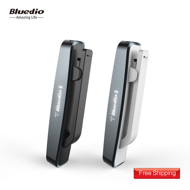 20626240253 Bluedio i6 Clip-On Bluetooth4.1 stereo headphones wireless headset earbud  LED screen