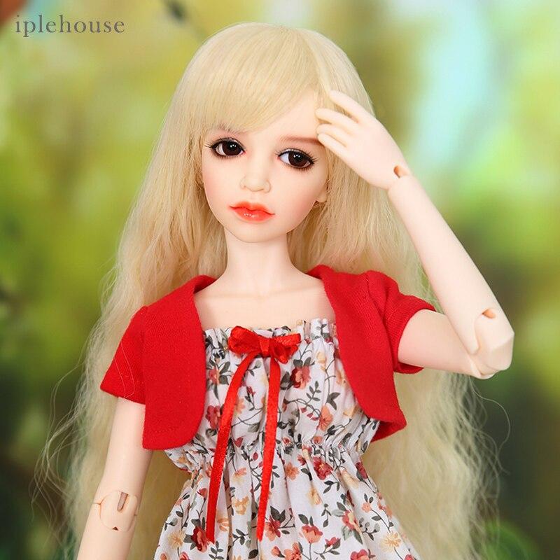 Iplehouse IP Jid Benny bjd sd bambola 1/4 del modello del corpo del Comune bambola ragazze regalo di resina di Alta Qualità giocattoli di trasporto occhi-in Bambole da Giocattoli e hobby su  Gruppo 1