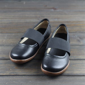 Image 2 - Women Genuine leather flat shoes oxford Casual Shoes woman Flats sneakers Female Footwear shoes 2020 new spring yellow black