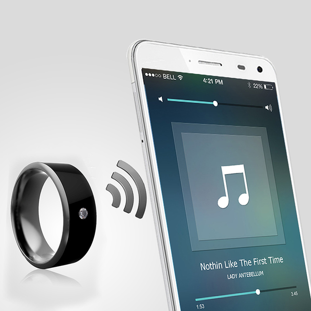 Kebidumei MJ02 Smart Ring Wear Jakcom R3 R3F NFC Magic For iphone Samsung HTC Sony LG IOS Android Windows NFC Mobile Phone 4
