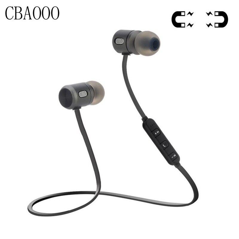 CBAOOO Sport Auricolare Senza Fili Bluetooth Headset Bluetooth Magnetico 4.2 Stereo Auricolari Auricolari Con Il Mic Per Il Telefono auriculares