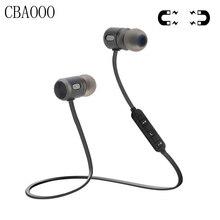 Bass Bluetooth наушники Беспроводной наушники с микрофоном Магнитная в ухо Bluetooth  наушники гарнитуры для мобильного телефона cc4570f7d8ef6