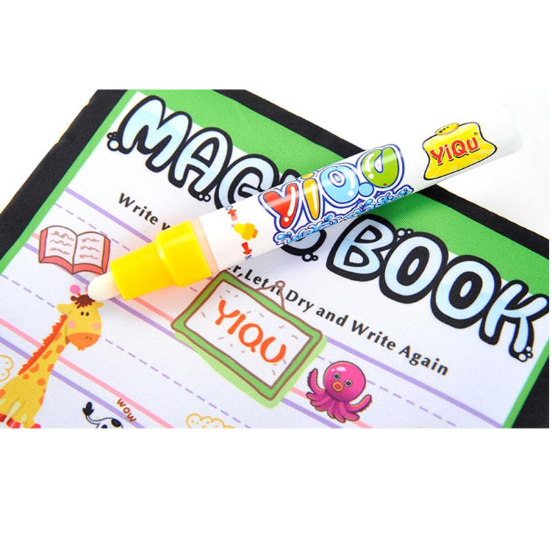 New-Magic-Kids-Water-Drawing-Book-1-Magic-Pen-Children-Intimate-Coloring-Book-Water-Animals-Painting-Board-wholesale-4
