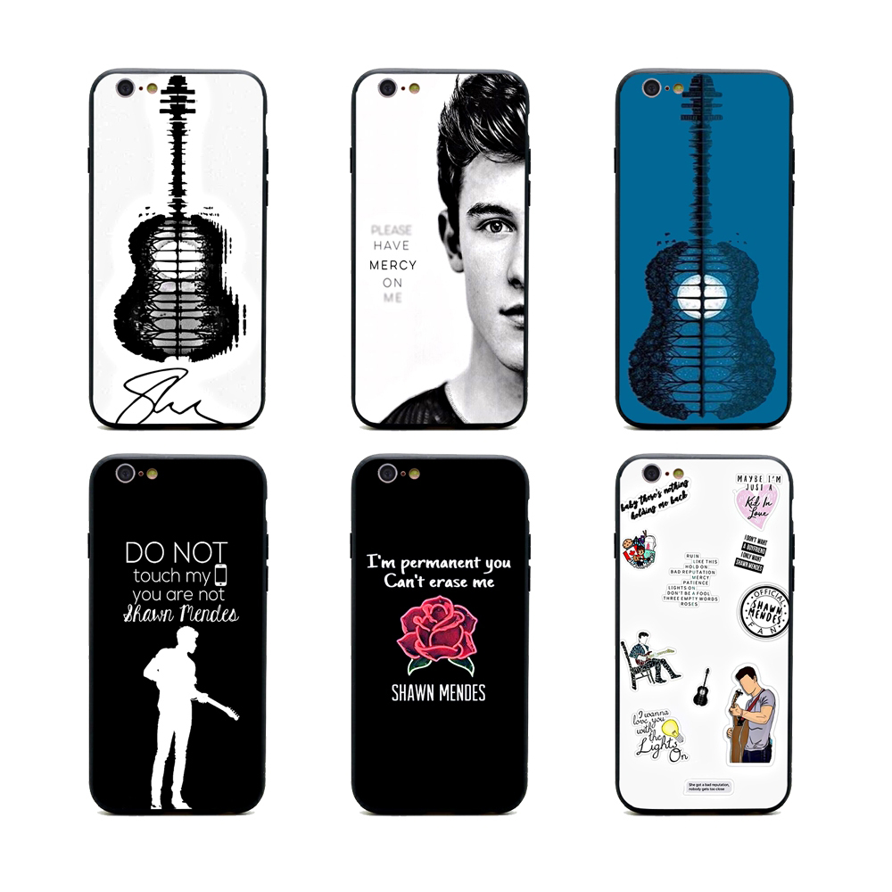 shawn mendes lyrics phone cases TPU+PC Black covers for iPhone X 6 7 8 plus 5 5s 6s se for Apple X best diy case