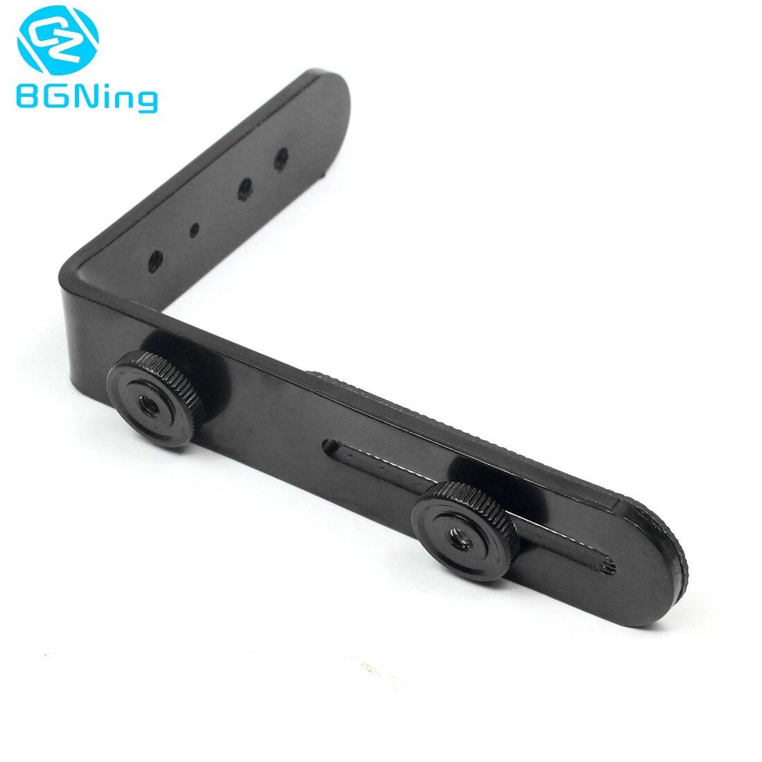 Alloy Single L 1 4 Screw Shaped Photo Studio Light Bracket Tripod Camera LED Flash Holder