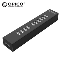 ORICO H1013 U2 10 Ports Micro USB Hubs 2 0 HUB For MAC Notebook Perfectly With