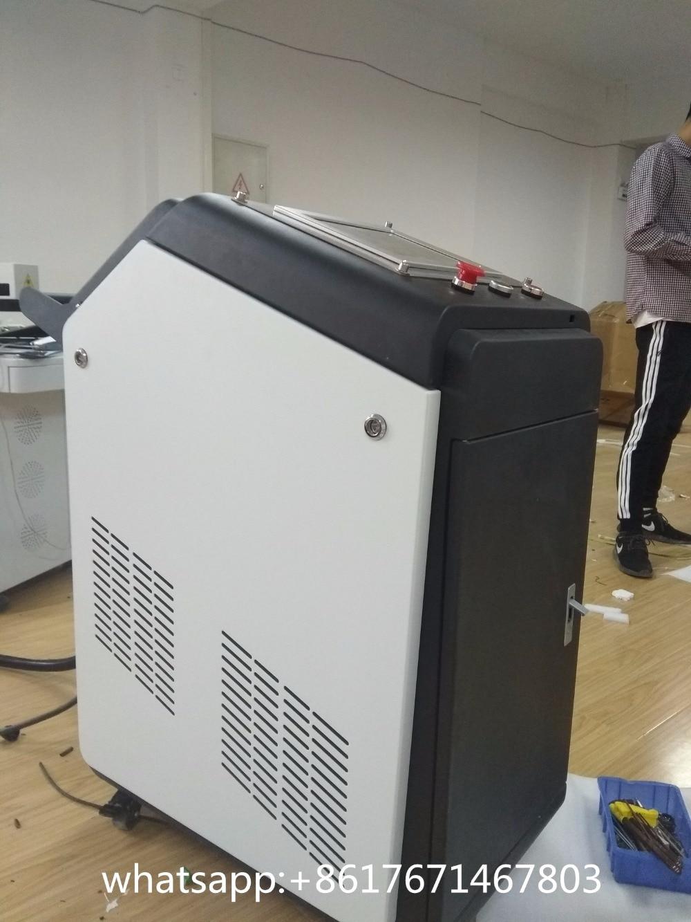Сделано в Китае Хорошее качество 200 Вт 500 Вт волокно лазерная машина для чистки для удаления краски/лазерный удаления ржавчины