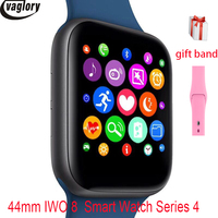 IWO 8 Smartwatch All New Design 44mm case Watch Series 4 for Phone 6 7 8 Xiaomi Huawei Support SMS synchroniza Smart Watch