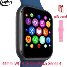 IWO 8 Smartwatch все новые дизайн 44 мм корпус часов серии 4 для телефона 6 7 8 Xiaomi huawei Поддержка SMS Синхронизация Смарт-часы
