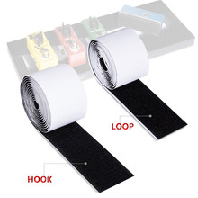 Adhesive Guitar Pedalboard Pedal Board Pedals Mounting Tape Length 2M Width 5CM Hook Loop Guitar Accessories(China)
