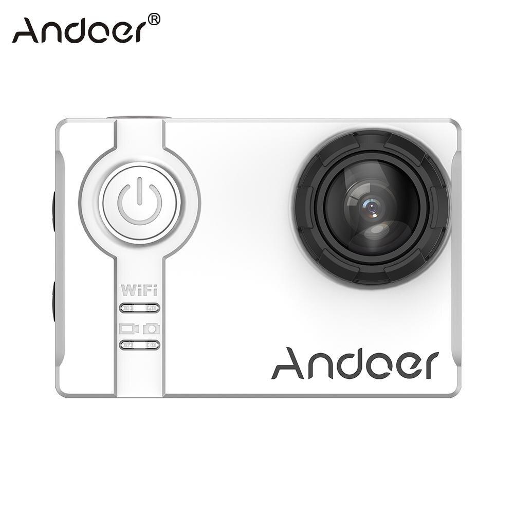 "Andoer Mini 4K Wifi Action Camera 1080P 120fps Full HD Sports DV Cam 16MP Anti-shake Waterproof 60m 2.0"" LCD Video Camcorder"