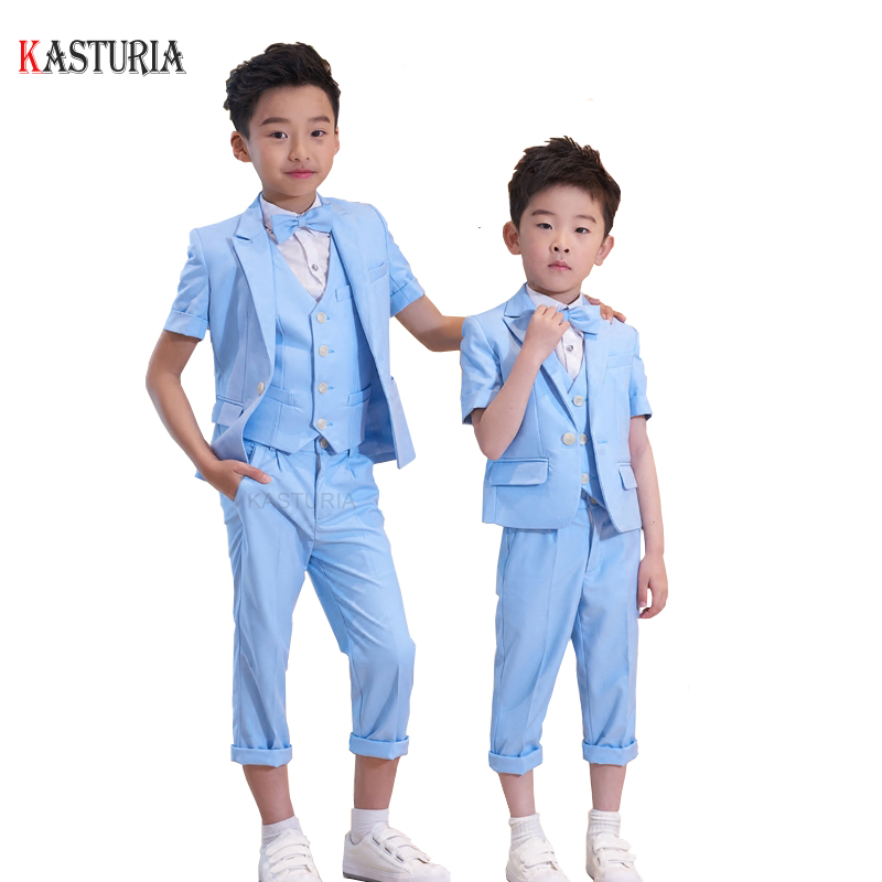 NEW Fashion Children boys suit blazers brand boys formal suits wedding party kids blazer ceremony suits for boys baby dress 5pcs winter kids boys suits blazers thicker warm plus children suit boy blue plaid blazer party clothes wedding suits for boys