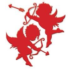 Амур стрелы металлические режущие штампы трафареты для diy Скрапбукинг