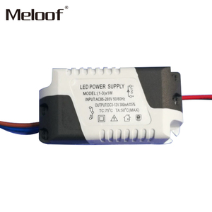 Image 3 - LED sterownik prądu stałego 85 265V 1 3W 4 5W 4 7W 8 12W 18 24W wyjście zasilania 300mA dysk zewnętrzny dla LED typu downlight