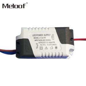 Image 3 - Pilote dalimentation à courant Constant LED V, alimentation électrique 1 3W 4 5W 4 7W 8 12W 18 24W, commande externe 265 ma pour Downlight LED