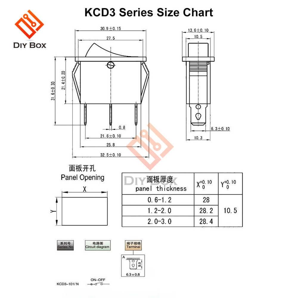 KCD3规格书