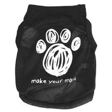 Dog Footprints Pet Clothes T-Shirts