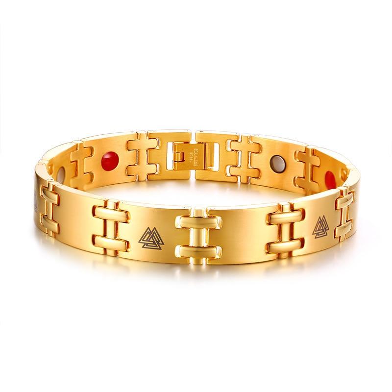 Bracelet Viking Rune magnétique thérapie  10