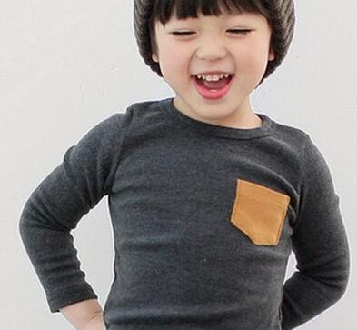 JMFFY 2019 Baby Boy Long Sleeve Girl Cotton   Shirt   Solid Tops Clothes Girl   Blouse     Shirt   Girls Spring   Shirts   Children Clothes 2-9Y