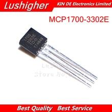 10 قطعة MCP1700 3302E TO92 MCP1700 3302E/إلى MCP1700 3302E جديد الأصلي