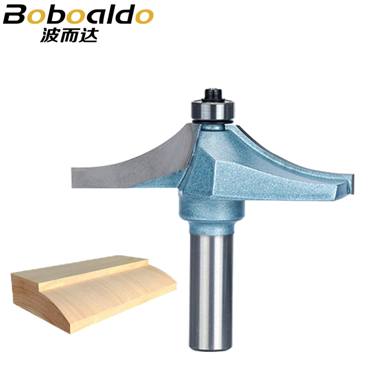 1pc 1/2 Shank Router Bits For Wood Tungsten Carbide Cutter Bit Industrial Grade Woodworking Tools free shipping pro grade 2 piece tungsten carbide 1 2 inch router bits set