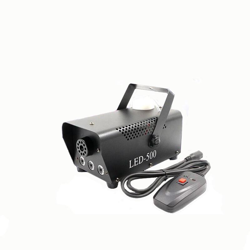 Stage Effect Fog Machine 500 Watt Smoke Machine With Wire Control 400W Mini Portable Smoke Machine Systems For Dj Bar Club Party