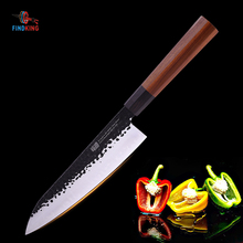 FINDKING 9 inch Japanese Professional Octagonal Handle Clad Steel Sushi Knife Kitchen Chef