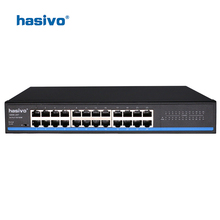 24 RJ45 Port Network Ethernet Switch 10/100Mbps Ethernet Switch LAN switch  for ip camera недорого