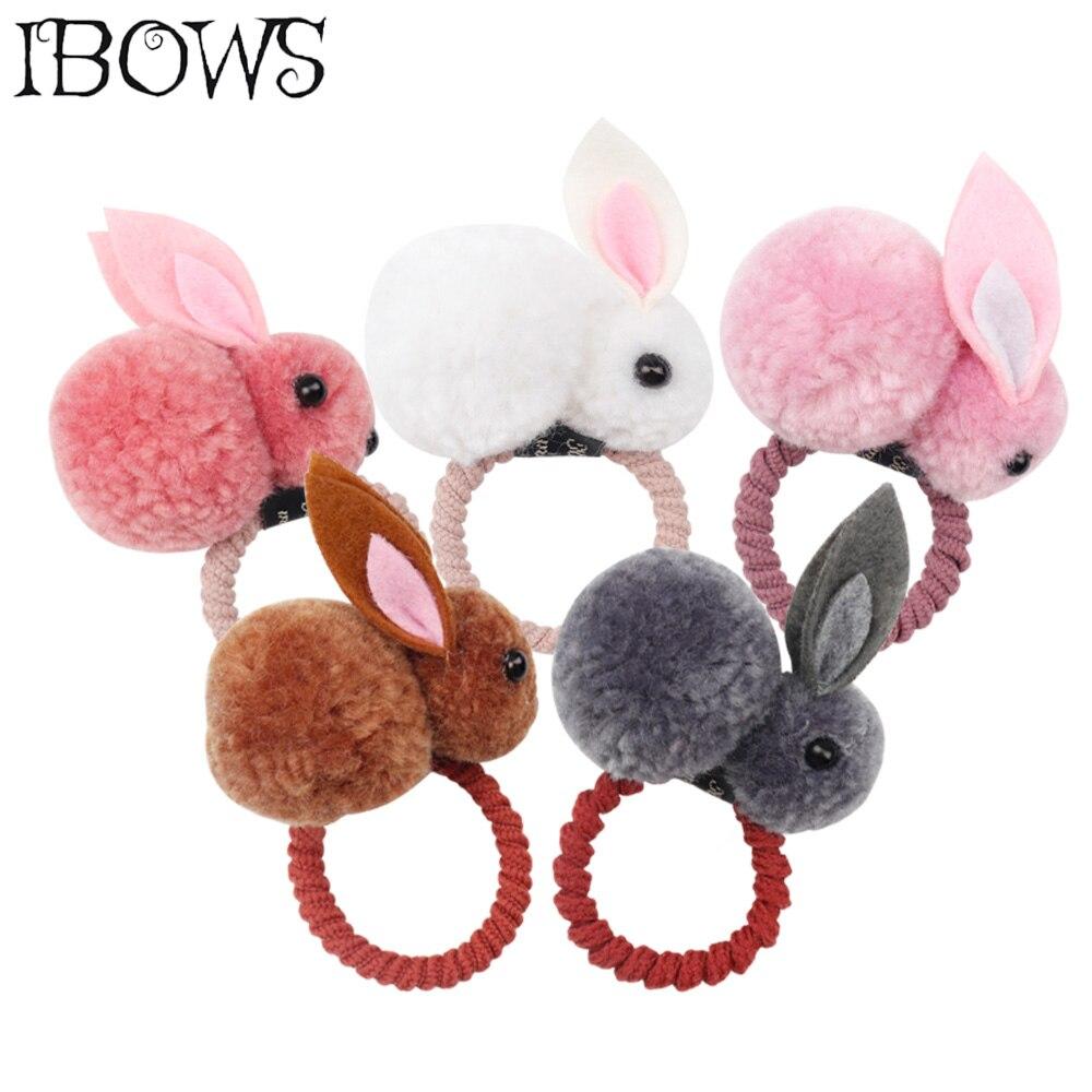 Cute Animals Rabbit Style Hair Bands For Children Girls Hair Accessories