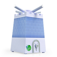 Humidifier Home Mute High Capacity Floor Style Office Fog Air Ultrasonic Fast Efficient Refreshing