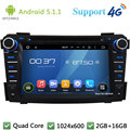 "Quad Core 7 ""1024*600 2DIN Android 5.1.1 Dvd-плеер Автомобиля Радио Стерео BT FM DAB + 3 Г/4 Г WI-FI GPS Map Для Hyundai I40 2011-2014"